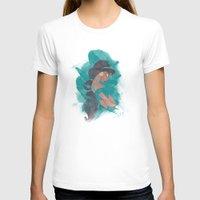 jasmine T-shirts featuring Jasmine.  by Nic Moore