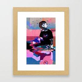 Hikikomori Framed Art Print