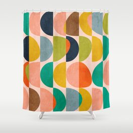 shapes abstract II Shower Curtain