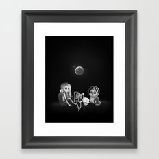 If I had a home to come back to Framed Art Print