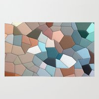 mosaic Area & Throw Rugs featuring mosaic  by  Agostino Lo Coco