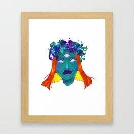 Crown B*sh Framed Art Print