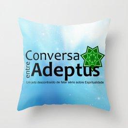Conversa entre Adeptus Throw Pillow
