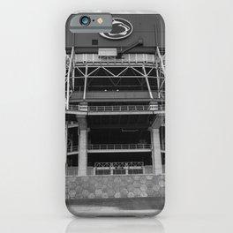 The Lion's Den Football Print iPhone Case