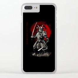 Bushido Samurai Clear iPhone Case