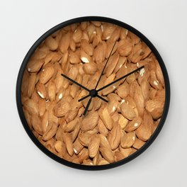 Peeled Almonds From Datca Wall Clock