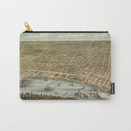 Map of Memphis 1870 Carry-All Pouch