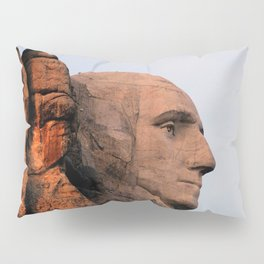 George Washington (Mount Rushmore) Pillow Sham
