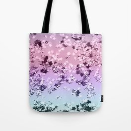 Unicorn Girls Glitter Stars #1 #shiny #pastel #decor #art #society6 Tote Bag