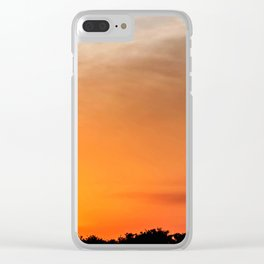 Sunset in Panama City Clear iPhone Case
