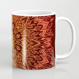 Fire Spirit Mandala Art Coffee Mug