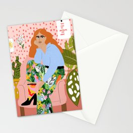 You can do everything you want Stationery Cards