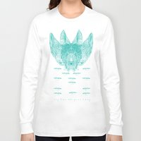 turquoise Long Sleeve T-shirts featuring Turquoise by Mary Szulc