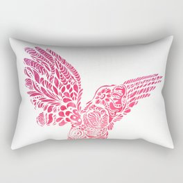 Gallito de las rocas dawn bird by #Bizzartino Rectangular Pillow
