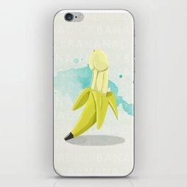 Banana Dick iPhone Skin