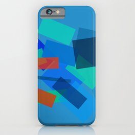 Retracting in Motion iPhone Case