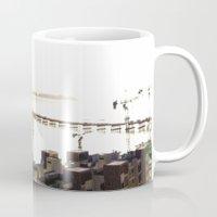 return Mugs featuring return stroke by Gray