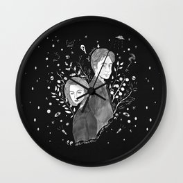 The Truth is Out There - Mulder and Scully Wall Clock