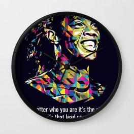 Ronaldinho Quotes Wall Clock