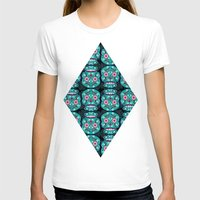 sugar skulls T-shirts featuring Sugar Skulls Pattern by Spooky Dooky