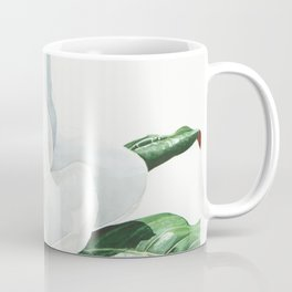 Watercolor Magnolia Blossom Coffee Mug