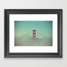 Good Morning San Francisco Framed Art Print