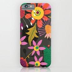 Jungle Flowers iPhone 6s Slim Case