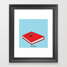 Bookworms Framed Art Print