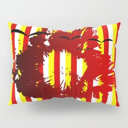 Abstract colorful striped Pillow Sham
