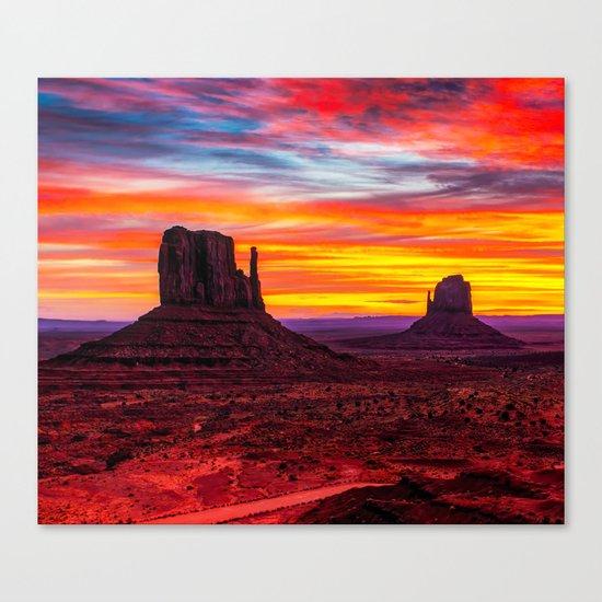 Desert Hearts Canvas Print
