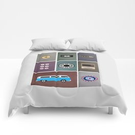 lost colors Comforters