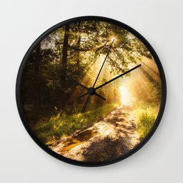 Way to work Wall Clock