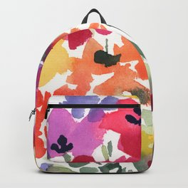 Bright Wildflower Field Backpack