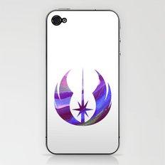 Star Wars Jedi Symbol in Blue iPhone & iPod Skin