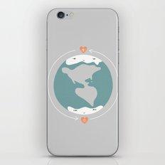 Polos opuestos iPhone & iPod Skin