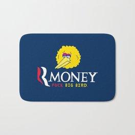 Romney VS Big Bird Bath Mat