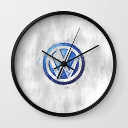 Das Auto sketch Wall Clock