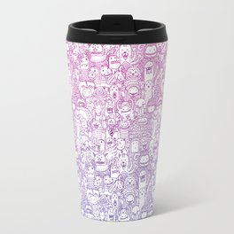 Curly & The Monster Factory Travel Mug
