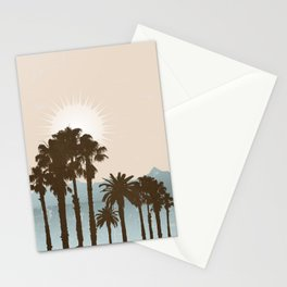 Summer Palm Trees II Stationery Cards