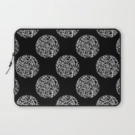 Abstract polka dot Laptop Sleeve