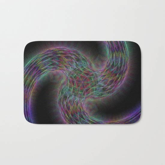 Triple magic galaxy Bath Mat