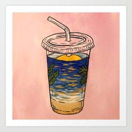 Vitamin D, 365ml Art Print