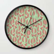 Watermeloon Wall Clock