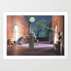 The Glorious Night Descends (II) Art Print