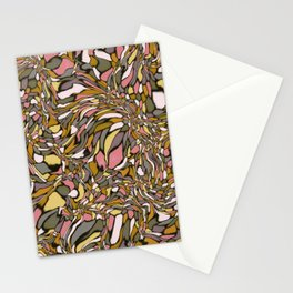 Terrazzo-Earthy Colorway Stationery Cards