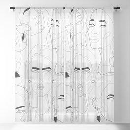 Girls Sheer Curtain