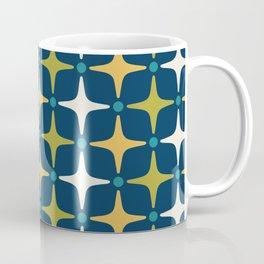 Mid Century Modern Star Pattern 583 Coffee Mug