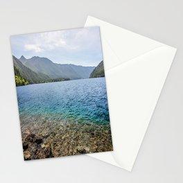 Crescent Lake Olympic Peninsula Stationery Cards