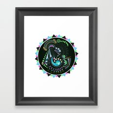 Formed in Space  Framed Art Print