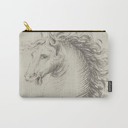 Head of a horse Carry-All Pouch